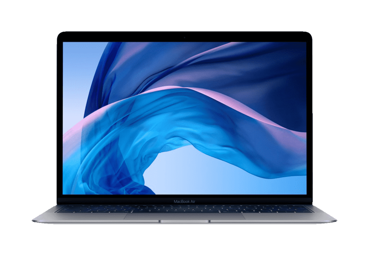APPLE  MacBook Air MRE92D/A mit deutscher Tastatur Notebook mit Core i5, 8 GB RAM, 256 GB & Intel® UHD-Grafik 617 in Space Grey | 00190198707772