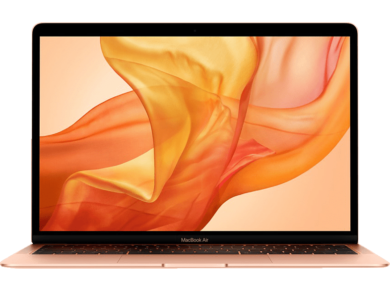 APPLE MacBook Air MREE2D/A-141376 mit deutscher Tastatur, Notebook, Core™ i5 Prozessor, 16 GB RAM, 128 GB SSD, Intel® UHD-Grafik 617, Gold