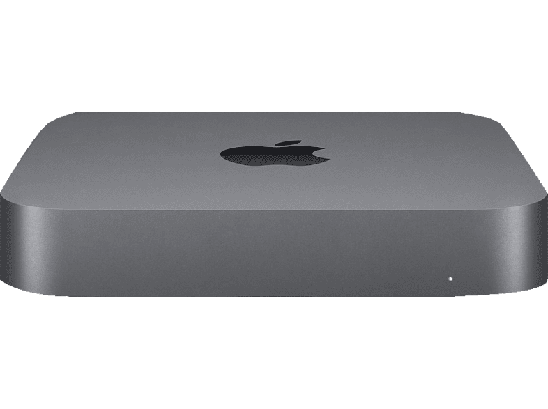 APPLE Mac mini MRTR2D/A-142019, Mini PC, Core i3 Prozessor, 8 GB RAM, 128 GB SSD, Intel® UHD-Grafik 630, Space Grau