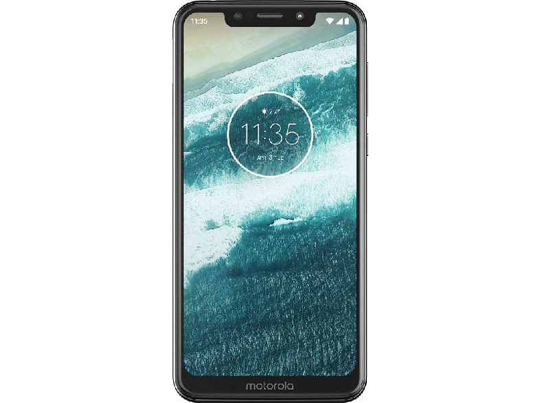 "Móvil - Motorola One, 5.9"", HD+, Android One, 8 x 2.0GHz, 4 GB RAM, 64 GB, 13 + 8 MP, Blanco"