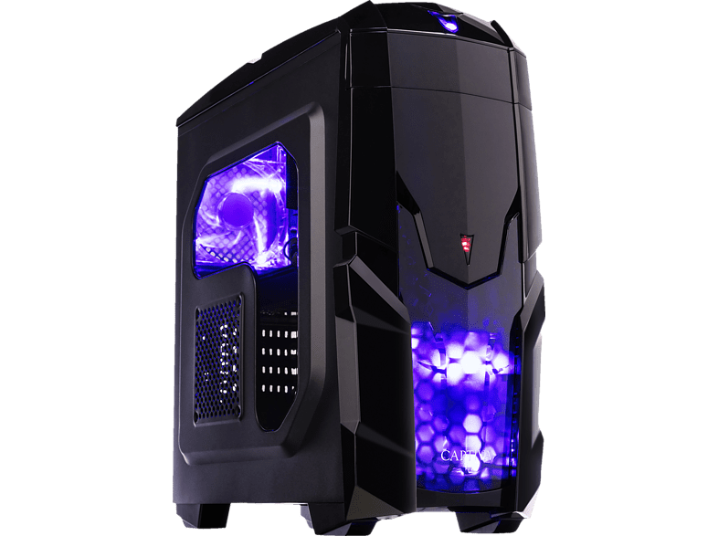 CAPTIVA Highend Gaming I47-055, PC mit Core™ i7 Prozessor, 32 GB RAM, 500 SSD, 2 TB HDD, GeForce® RTX 2080, 8 GDDR6 Grafikspeicher