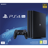SONY Playstation 4 Pro 1TB Jet Black Standalone