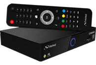 STRONG SRT 2402 IPTV-Receiver (PVR-Funktion, DVB-T2 HD, DVB-C, DVB-S2, Schwarz)