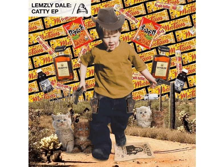 Lemzly Dale - Catty EP [Vinyl]
