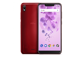 "Móvil - Wiko View2 Go, 5.93"", 16 GB, 2 GB, Octa-Core 1.4 GHz, Rojo"