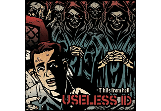 Useless Id - 7 Hits From Hell (Red) - (Vinyl)