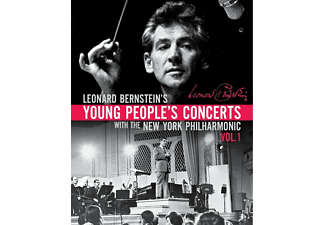 Leonard Bernstein - YOUNG PEOPLE S CONCERT 1 - (Blu-ray)