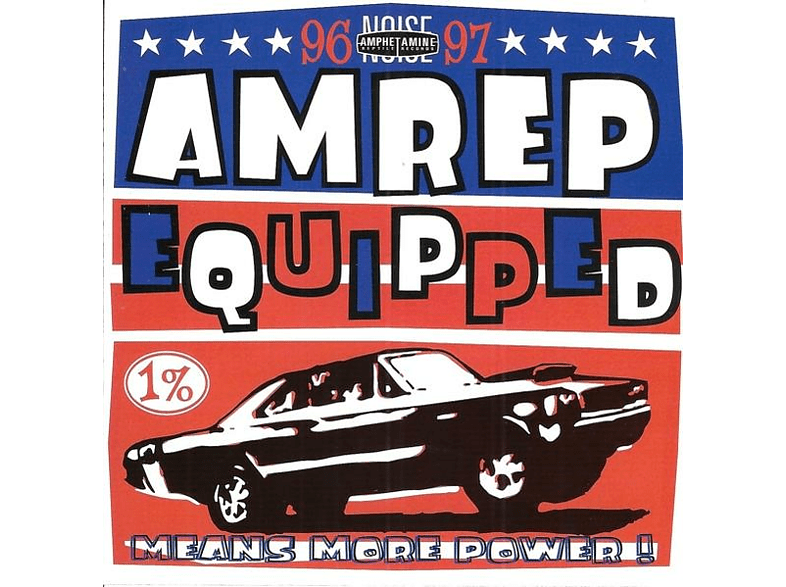 VARIOUS - Amrep Equipped 96-97 [CD]