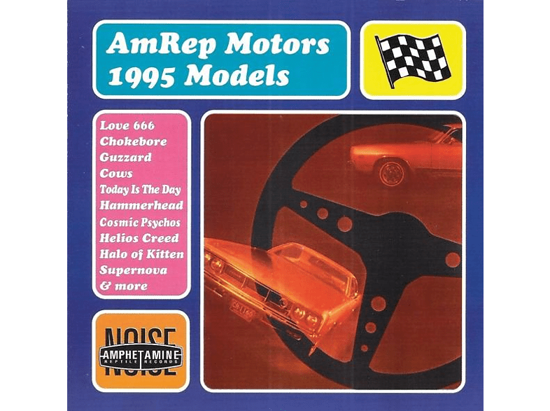 VARIOUS - Amrep Motors 1995 Models [CD]