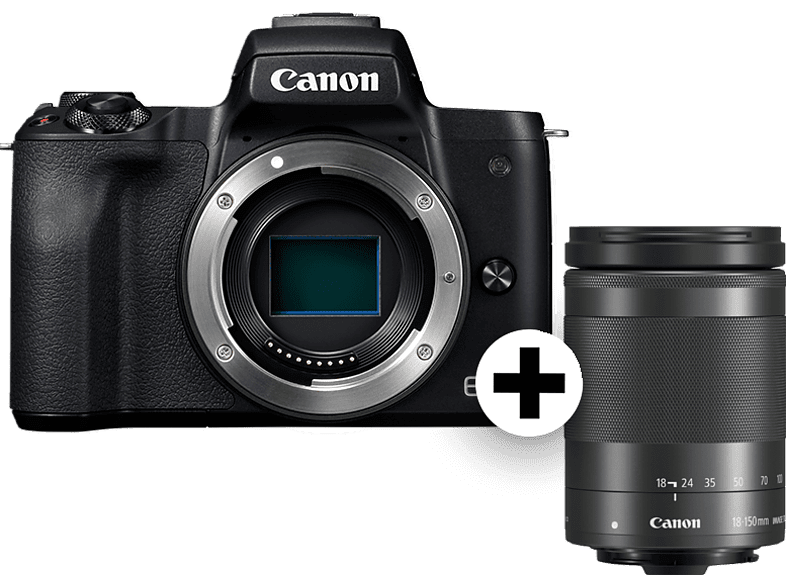 CANON EOS M50 BK M18-150 SEE