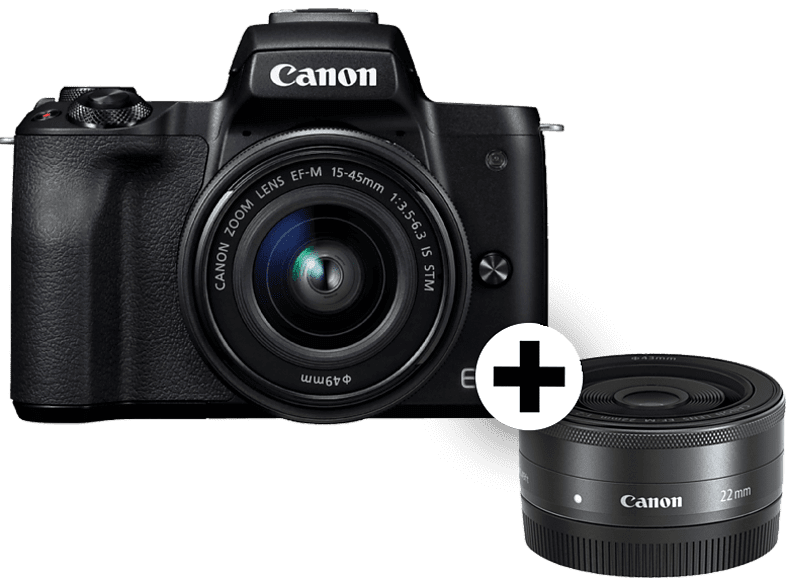 CANON EOS M50 BK M15-45 S μαζί με M22 SEE