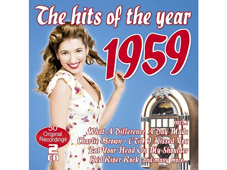 VARIOUS - The Hits Of The Year 1959 [CD]