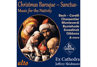 Skidmore/Ex Cathedra Chamber Choir/Baroque Orch. - Baroque Christmas Sanctus - (CD)