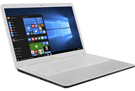 ASUS R702MA-BX102T, Notebook mit 17.3 Zoll Display, Pentium® Silver Prozessor, 4 GB RAM, 1 TB HDD, Intel® UHD-Grafik 605, White