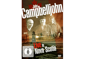 John Campbelljohn - LIVE IN NOVA SCOTIA - (DVD)