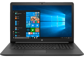 HP 17-by0334ng, Notebook mit 17.3 Zoll Display, Core™ i7 Prozessor, 8 GB RAM, 1 TB HDD, 128 GB SSD, Radeon™ 520, Schwarz