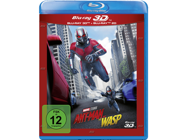 Ant-Man and the Wasp [3D Blu-ray (+2D)]