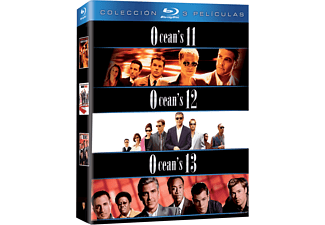 Pack Ocean's 11 + Ocean's 12 + Ocean's 13 - Bluray