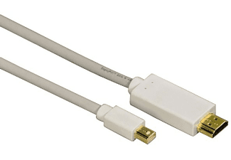 Cable - Hama 00053220 HDMI Mini DisplayPort Gris, blanco