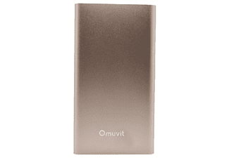 MUVIT 5000MAH/P/GOLD/CABL/USB/MICUSB/MUCH