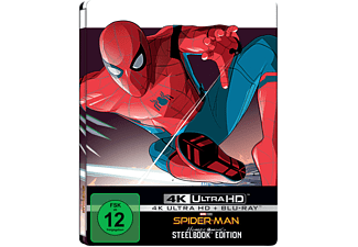 Spider-Man: Homecoming (Exklusives Steelbook) - (4K Ultra HD Blu-ray + Blu-ray)