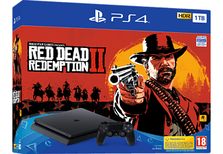 SONY PS4 1TB + Red Dead Redemption 2 Oyun Konsolu