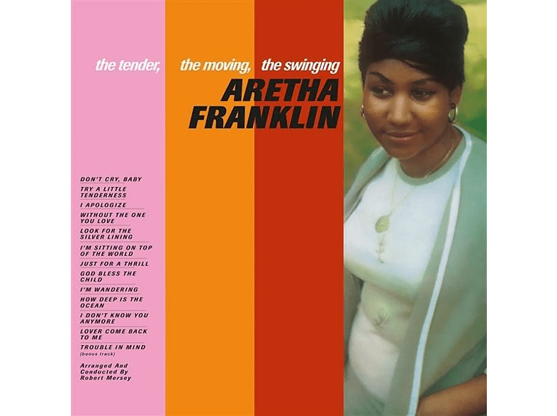 Aretha Franklin - The Tender,The Moving,The Swinging [Vinyl]