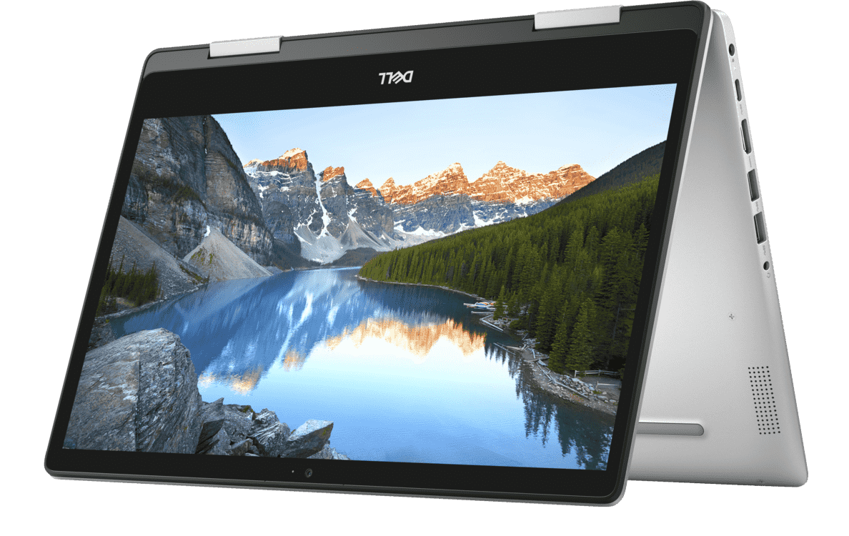 DELL  Inspiron 14 5482 Convertible mit Core™ i5, Intel® UHD Grafik 620 & 8 GB RAM in Silber | 05397184152164