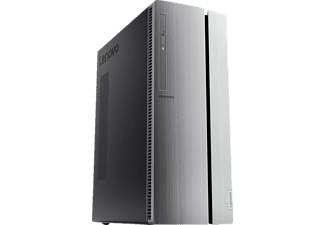 LENOVO IdeaCentre 510, Gaming PC mit Core i5 Prozessor, 8 GB RAM, 128 GB SSD, 1 TB HDD, GeForce® GTX 1050 Ti, 4 GB GDDR5 Grafikspeicher