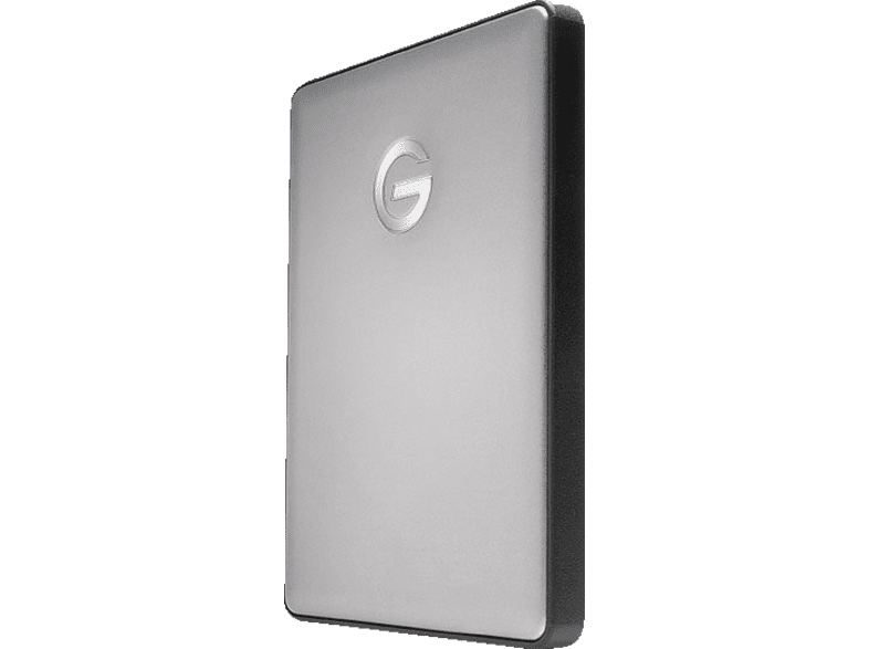 G-TECHNOLOGY G|DRIVE®  mobile USB-C™, 1 TB, Space Grey, 1 TB HDD, 2.5 Zoll, extern