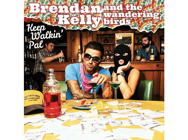 Brendan -& The Wandering Birds- Kelly - Keep Walkin' Pal [Vinyl]