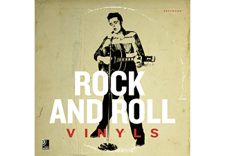 earBOOKS:Rock And Roll Vinyls - 1 CD + Buch - Bücher