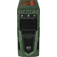HYRICAN MILITARY GAMING 6170, Gaming PC mit Core™ i7 Prozessor, 16 GB RAM, 480 GB SSD, 2 TB HDD, Radeon™ RX 580, 8 GB