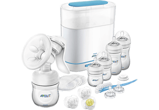PHILIPS AVENT SCD293/00 Handmilchpumpen-Set (Weiss)