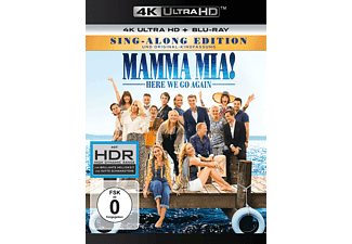 Mamma Mia! Here we go again - (4K Ultra HD Blu-ray + Blu-ray)