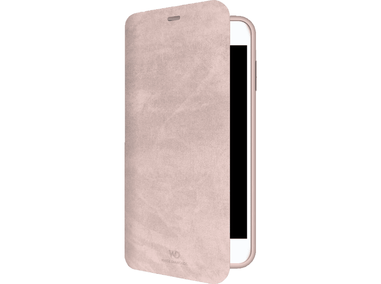 WHITE DIAMONDS Promise Bookcover Apple iPhone 7, iPhone 8 Kunststoff Coral