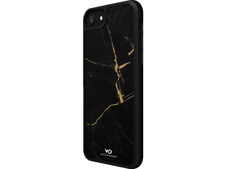 WHITE DIAMONDS Tough Marble Backcover Apple iPhone 7, iPhone 8 Kunststoff Gold