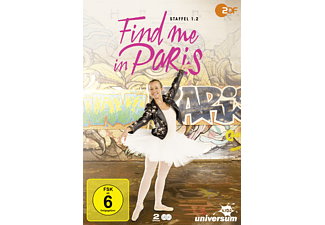 Find me in Paris Staffel 1.2 - (DVD)