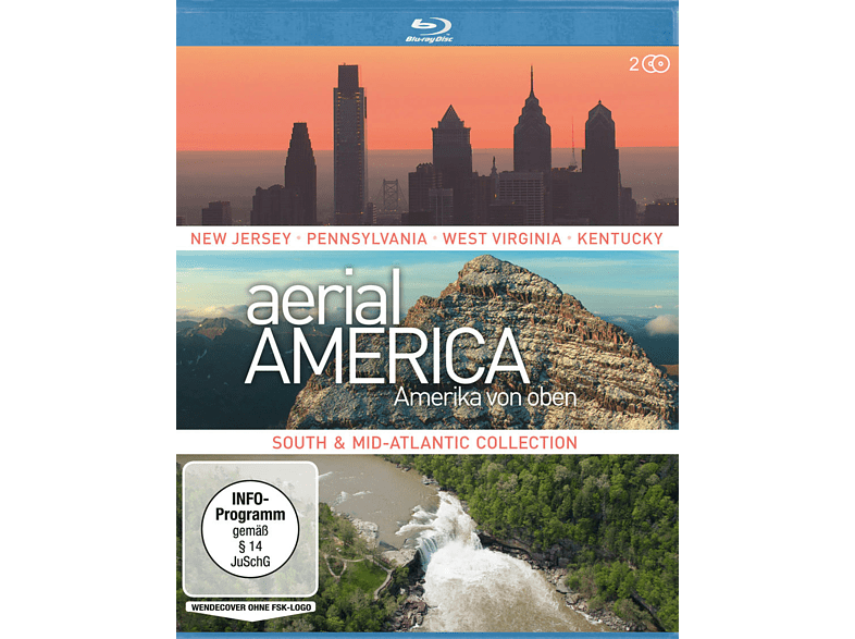 Aerial America - South and Mid-Atlantic Collection [Blu-ray]