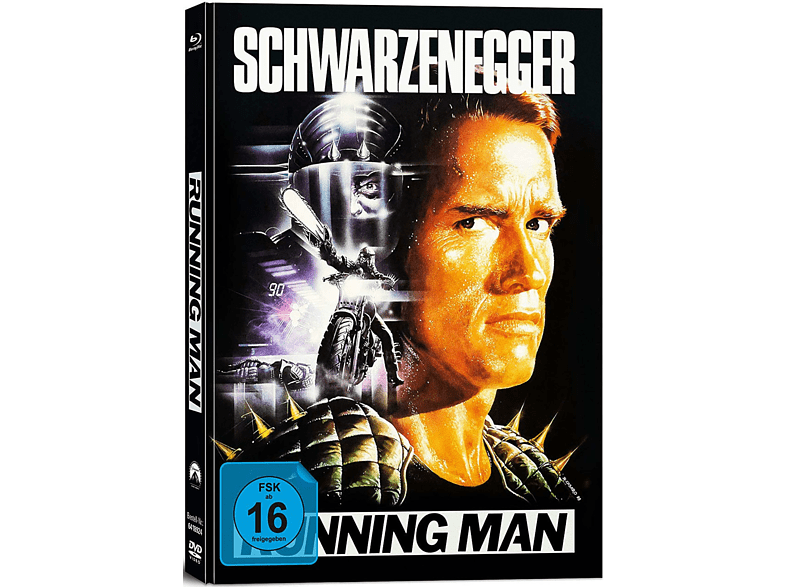 RUNNING MAN (LTD. COLL.EDIT./MEDIABOOK) [Blu-ray]