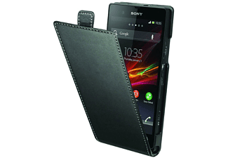 Funda con tapa para Sony Xperia Z - Made for Xperia Z , negra