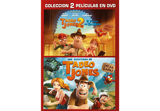 Pack Tadeo Jones 1 + 2 - DVD