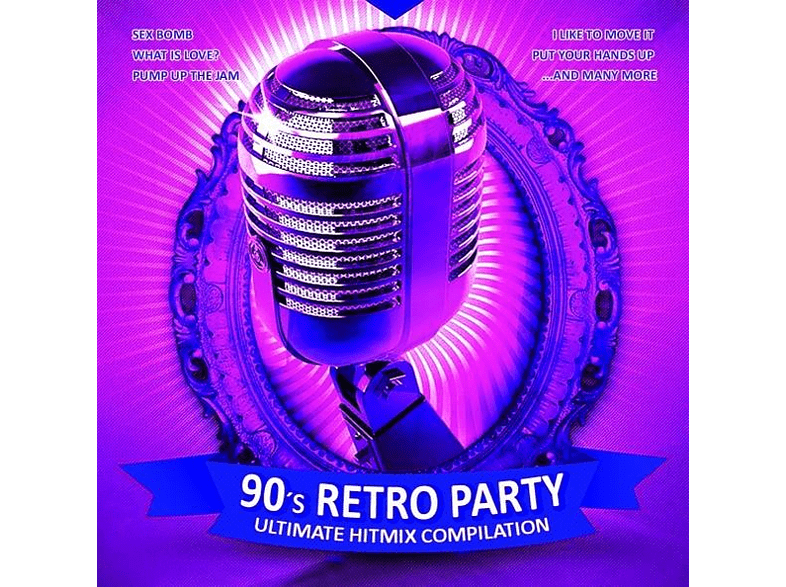 VARIOUS - 90's Retro Party [CD]