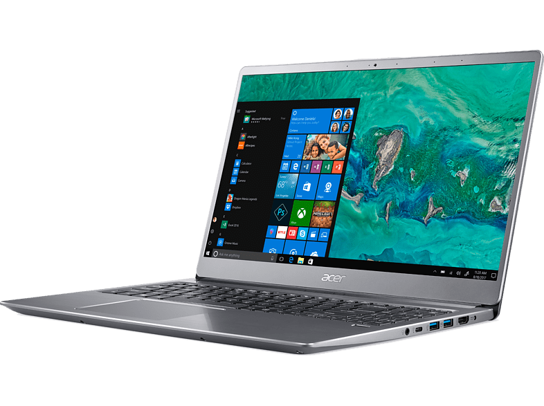 "Acer Swift 3 Sf315-52G/i5-8250U/4Gb/256Gb Ssd/mx150 2Gb Vga/15.6"" Fhd/w10 Ultrabook"