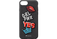 CELLULAR LINE PATCH Yes  , Backcover, Apple,  iPhone 8, iPhone 7, gummierten Ecken , Stickerei Applikation Yes