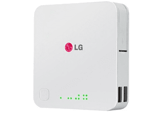 Power Bank - LG, 10400 mAh, blanca