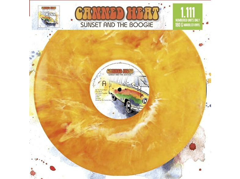 Canned Heat - Sunset And The Boogie Limitiert [Vinyl]