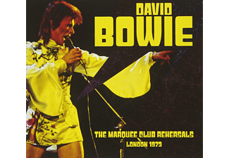 David Bowie - The Marquee Club Rehearsals London 1973 - (CD)