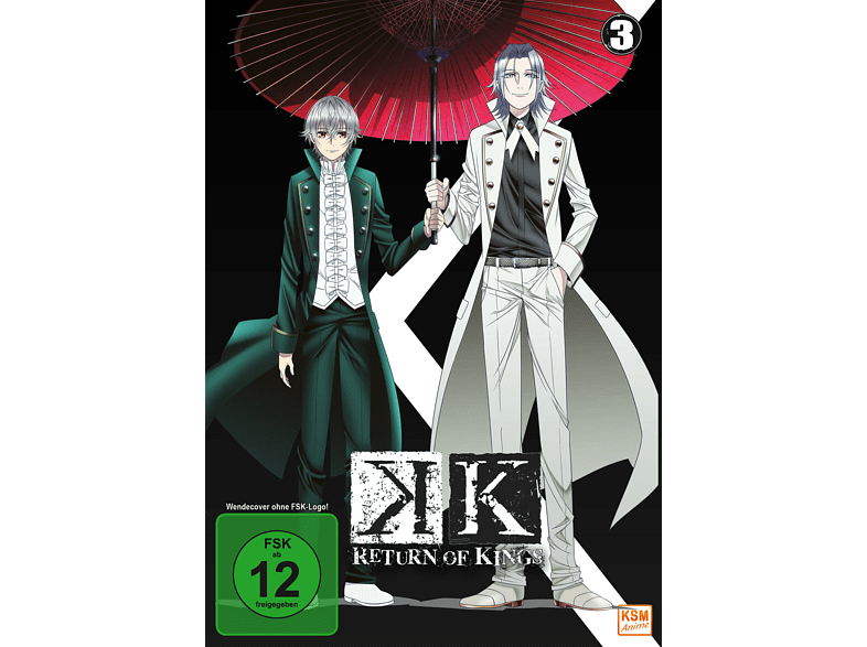 K - Return of Kings - Volume 3 [DVD]
