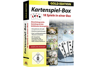 GE 18in1 Kartenspiele Box (Gold Edition) - PC